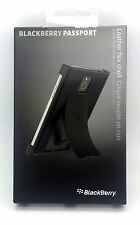 Genuine BLACKBERRY PASSPORT neri in pelle flex SHELL COVER acc-60721-001
