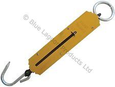 50KG POCKET SPRING BALANCE SCALE FISHING LUGGAGE HANGING KG LBS BAGGAGE SPRING