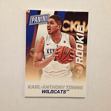 KARL-ANTHONY TOWNS #36 RC Kentucky THICK 100 PT 2015 2014/15 Panini National