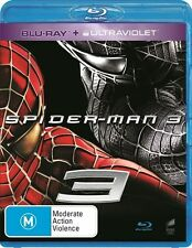 ●● Spider-Man 3 ●● (Blu-ray + UV Digital, 2014) Kirsten Dunst, Tobey Maguire