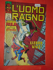 UOMO RAGNO spiderman -N° 77 -prima SERIE 1°- DEL 1973 -EDIZIONI CORNO- usato