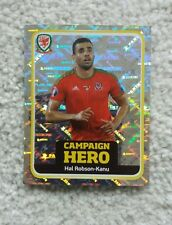 Wales Official Panini Sticker 2016  Excellent Condition FOIL 195 Campaign Hero