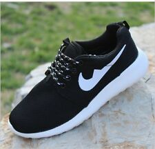 "2017fashion Women""s Breathable black white casual sports shoes running shoes:6.5"