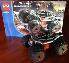 LEGO RACERS 8385 EXO STEALTH - MOTORIZED, COMPLETE W INSTRUCTIONS