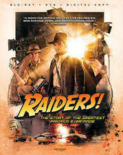 Raiders BLU-RAY + DVD + DIGITAL New Sealed Story of the Greatest Fan Film Ever