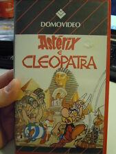 VHS film ASTERIX E CLEOPATRA DOMOVIDEO 75 minuti   L-10