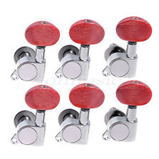 6L Acoustic Guitar Tuning Pegs Tuners Machine Heads For Lap Steel Parts Keys Peg
