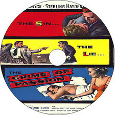 Crime of Passion _ Barbara Stanwyck Sterling Hayden 1957 dvd