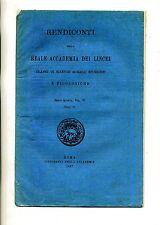RENDICONTI DELLA REALE ACCADEMIA DEI LINCEI #Tip.Accademia 1897 Vol. VI N.2