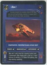 Star Wars CCG Reflections I (1) FOIL Slave 1 M/NM