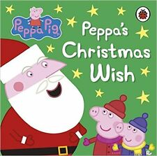 NEW!! Peppa Pig: Peppa's Christmas Wish Board book FREE UK DELIVERY!!