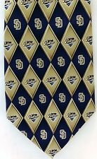 San Diego Padres Silk Tie MLB Baseball CA Petco Park Friar Major Leagues