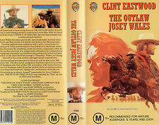 THE OUTLAW JOSEY WALES - VHS - NEW - Never played!! - Very rare!! - M-rated