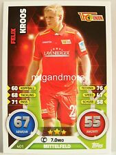 Match Attax 2016/17 2. Bundesliga - #401 Felix Kroos - 1. FC Union Berlin