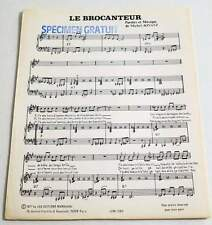Partition vintage sheet music MICHEL JONASZ : Le Brocanteur * 70's Promo
