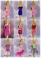 Lot 20 items= 10 Lovely Fashion Clothes/Outfit/Dress+10 shoes For Barbie Doll M6