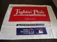 Philadelphia Phillies---2009 World Series---Rally Towel---14x18--Taco Bell