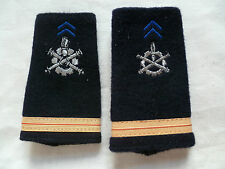 FOURREAUX EPAULETTES ARMEE FRANCE MATERIEL ADJUDANT CHEF Occasion ORIGINAL