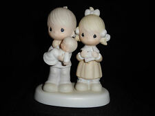 PRECIOUS MOMENTS REJOICING WITH YOU FIGURINE 1980