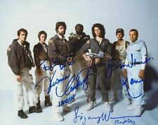 ALIEN Multi Signed Cast Photo- Weaver, Hurt - 4 GENUINE AUTOGRAPHS UACC (R13120)