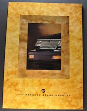 1994 Mercury Grand Marquis Sales Brochure Folder Excellent Original 94