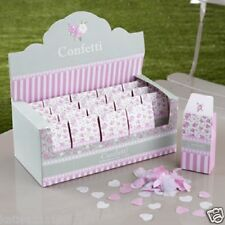 New wedding frills & spills biodegradable tissue paper box of 20 confetti