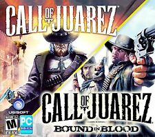 CALL OF JUAREZ and CALL OF JUAREZ BOUND IN BLOOD.  BRAND NEW   SHIPS FAST / FREE