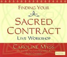 Finding Your Sacred Contract Caroline Myss 4 CD Audio Live Workshop Hay House