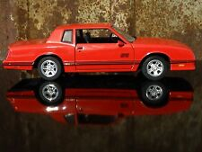 Saico 1987 Chevy Monte Carlo SS 454 Red 1:24 Scale Diecast Metal Model Car