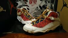 Nike Air Jordan VI 6 Rings Championship pack WHITE red navy sz  9