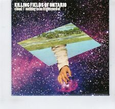 (GR410) Killing Fields Of Ontario, Cloud/Nothing To Be Frightened Of- 2013 DJ CD
