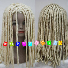Dreadlock Style Wigs Long Curls Rolls Hair Drama Cosplay Costume Party Wig