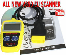 CAR OBD2 EOBD CAN Fault Code Reader Scanner diagnostic scan tool beats d950 UK