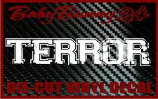 Terror band Logo Laptop Truck Car Decal Vinyl Sticker