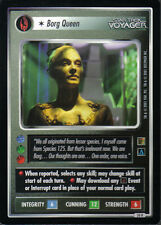 STAR TREK CCG THE BORG RARE CARD BORG QUEEN