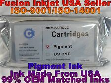 Compatible Epson Stylus Pro 4900 Cyan Pigment ink 200ml T653200 cartridge tank