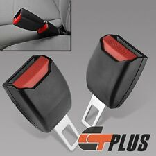 2PCS AUTO CAR SAFETY SEAT BELT BUCKLE CLIP ADJUSTABLE EXTENSION EXTENDER