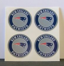 (4) NEW ENGLAND PATRIOTS - 2 in. DIY stickers decal GREAT for YETI, mugs,laptop