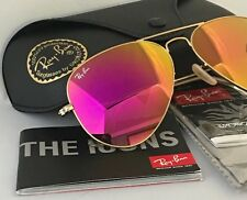 RAY BAN AVIATOR RB3025 112/4T 58mm PInk MIRROR New Authentic Holidays sale
