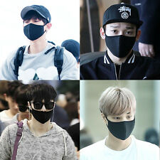 EXO Chanyeol Chen Lay Kai Black KPOP Mouth Mask face mask Cotton mouth-muffle