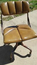 Vintage Metal Chair Industrial Loft Mid Century Modern Do/More Chair Co.