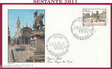 ITALIA FDC ROMA PIAZZA SAN CARLO TORINO 1987 ANNULLO Y97