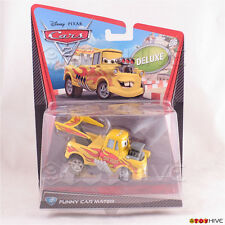Disney Pixar Cars 2 Deluxe Funny Car Mater No. 12 worn package