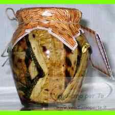 Melanzane Sott'olio Grigliate | Conserva Casereccia prodotto tipico Specialità C
