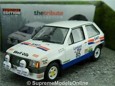 VAUXHALL NOVA SPORT 1300CC COLIN MCRAE RALLY CAR MODEL 1/43RD TYPE Y0675J^*^