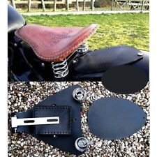 Kit cache CDI cuir selle Solo Sportster 2007 à 2009 Choppers Bobbers motard moto