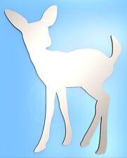 Deer Mirror Shatterproof Mirrors 15cm Animal Bambi Safety Acrylic V2