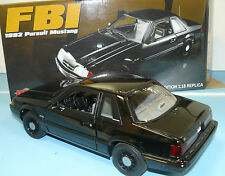 1/18  ACME 1992 Mustang FBI persuit car, new in the box  1 of 948