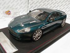 """FrontiArt F026-44 # Aston Martin DB 9 Baujahr 2013 """" dunkeltürkismetallic """" 1:18"""