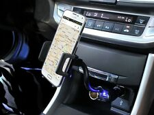 Cigarette Lighter Plug Car Mount Holder for Samsung Galaxy S3 III/ S4 Phone Kit